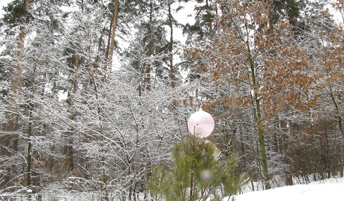 Горение пропан-бутановой смеси. Explosion of Balloon (Filled with Propane-Butane Mixture)