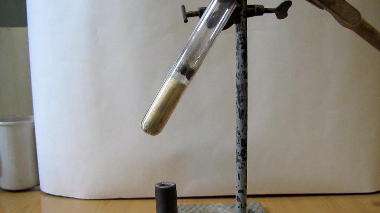 Получение пирофорного железа из оксалата
