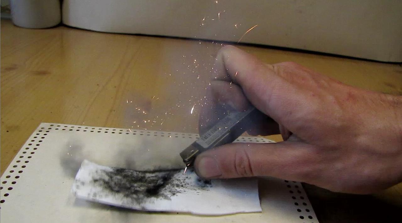 Взрыв ацетиленида серебра