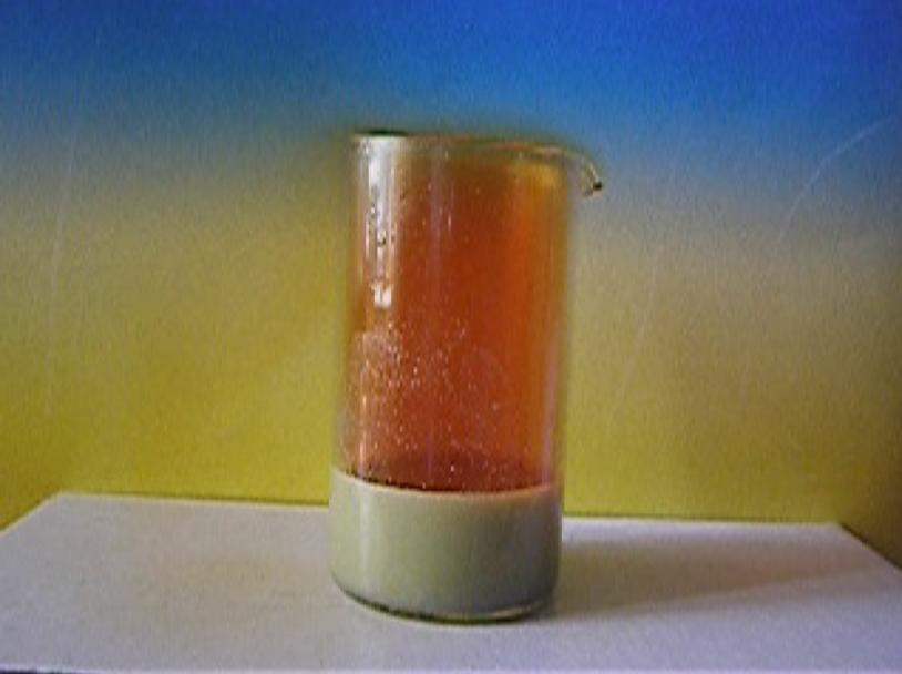 Реакция олова с азотной кислотой