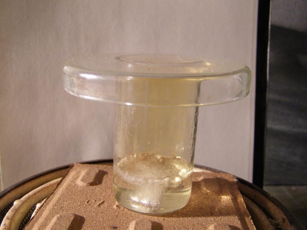 Реакция алюиминия  с концентрированной азотной кислотой