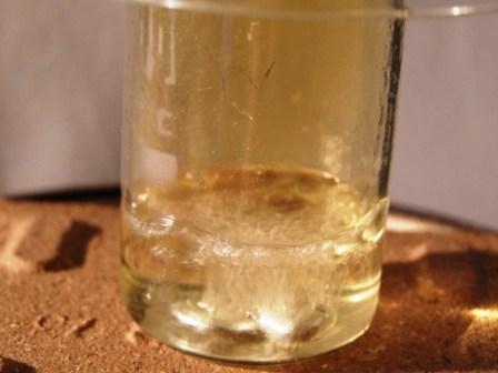 Реакция  алюминия с горячей концентрированной азотной кислотой
