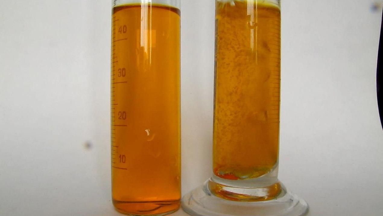 Восстановление бихромата калия атомарным водородом. Reduction of Potassium Dichromate by Nascent Hydrogen