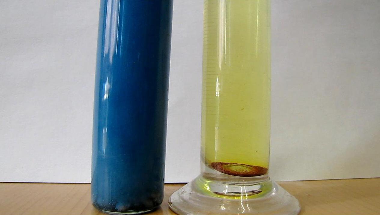 Восстановление ванадата аммония атомарным водородом