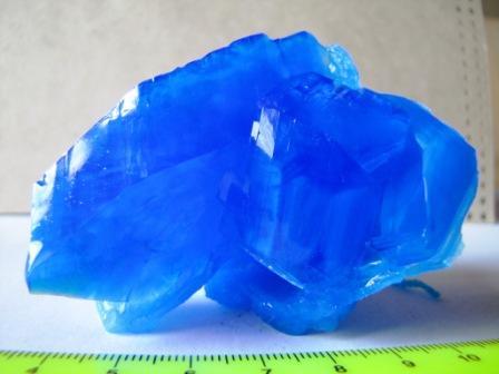Как вырастить кристалл медного купороса?