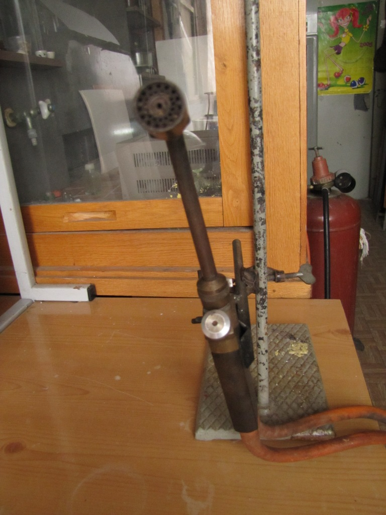Стеклодувная горелка. Burner for Glass Blowing