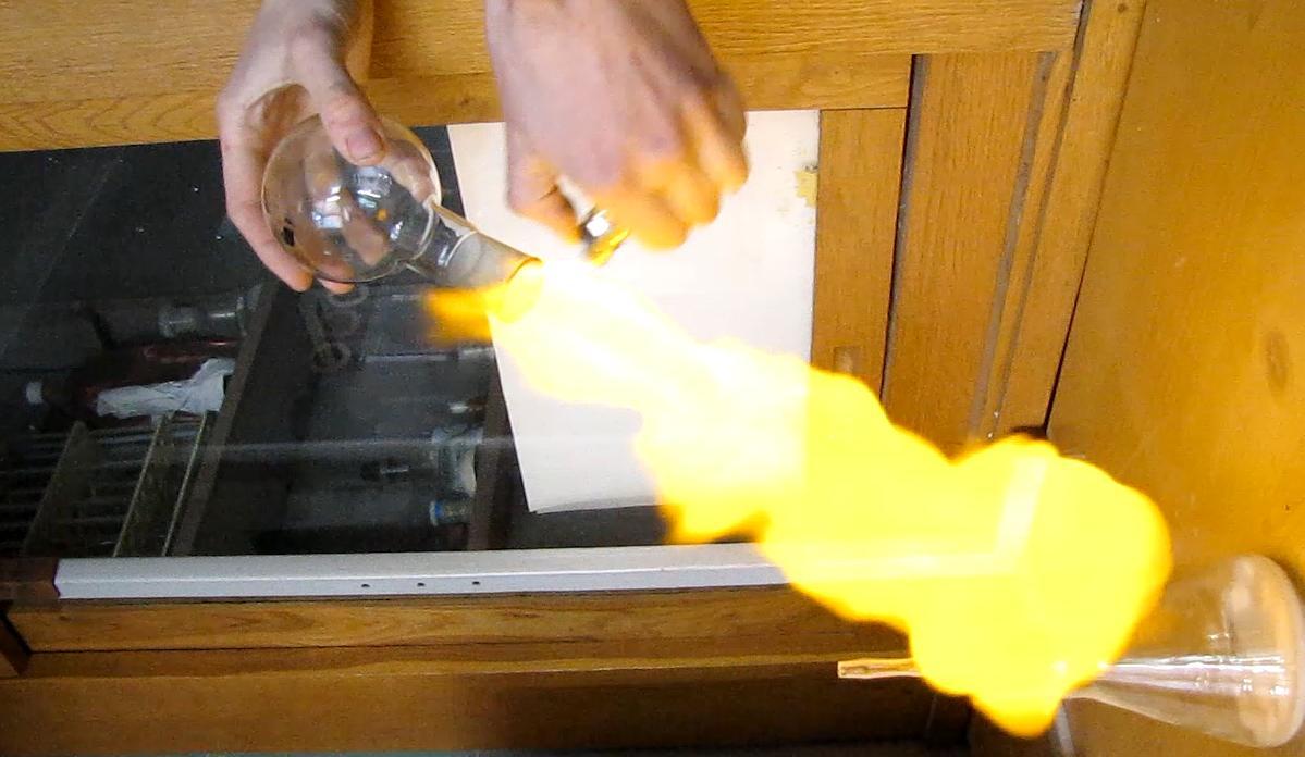 Горение и взрыв водорода