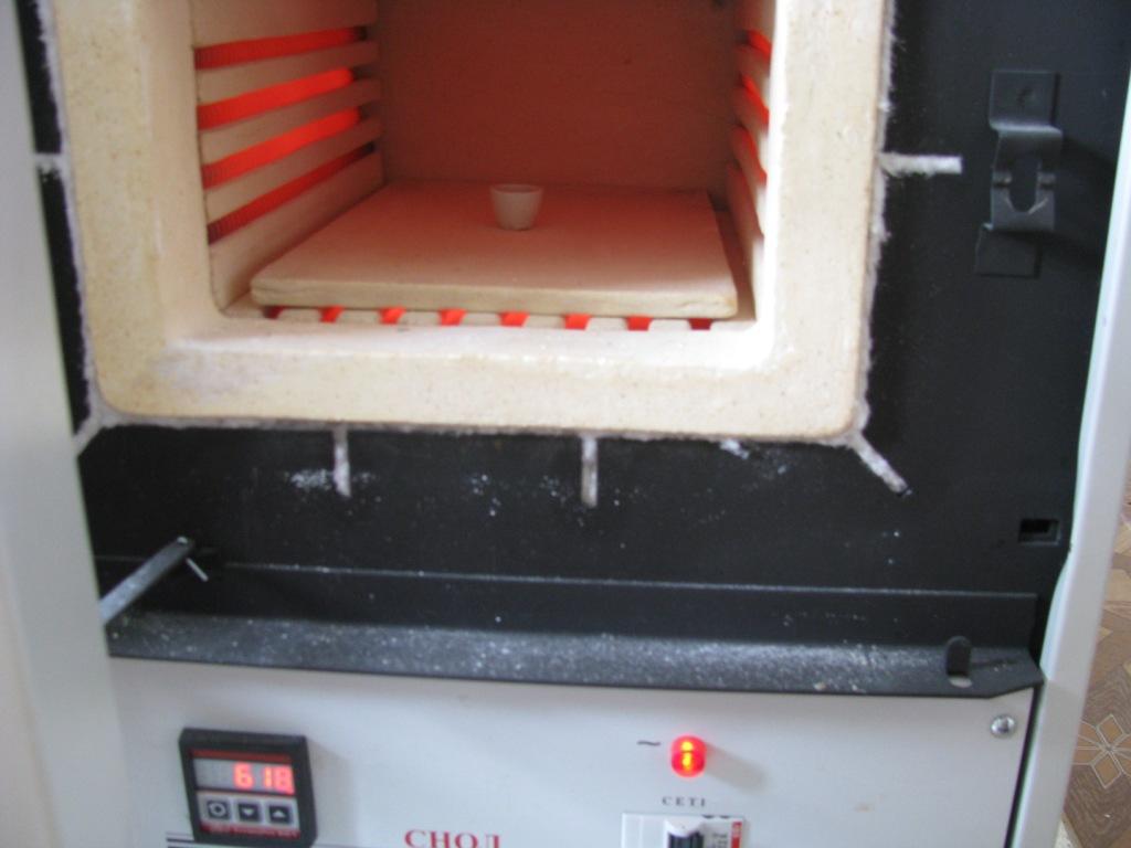 Муфельная печь (муфель)