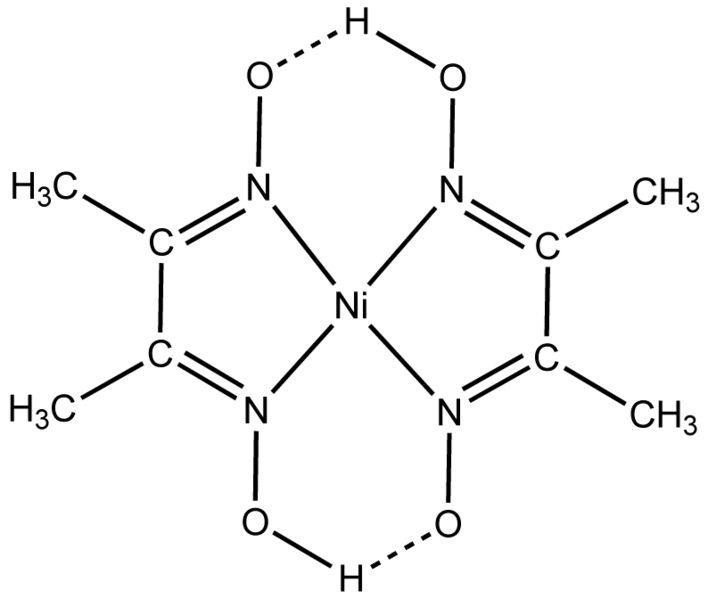 Комплекс никеля и диметилглиоксима