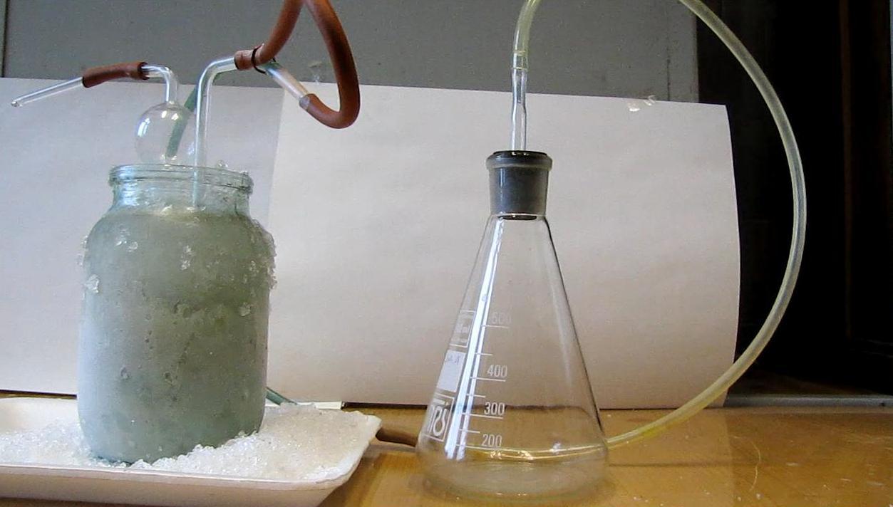 Получение жидкого диоксида азота