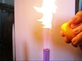 Огонь и апельсиновая кожура