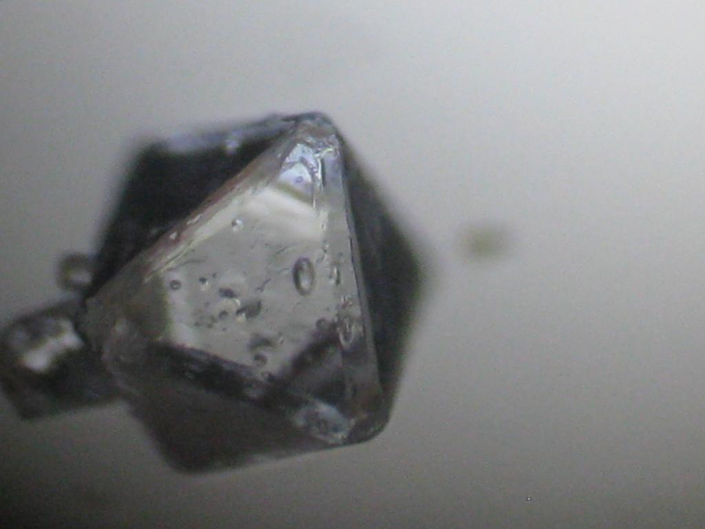 Квасцы под микроскопом