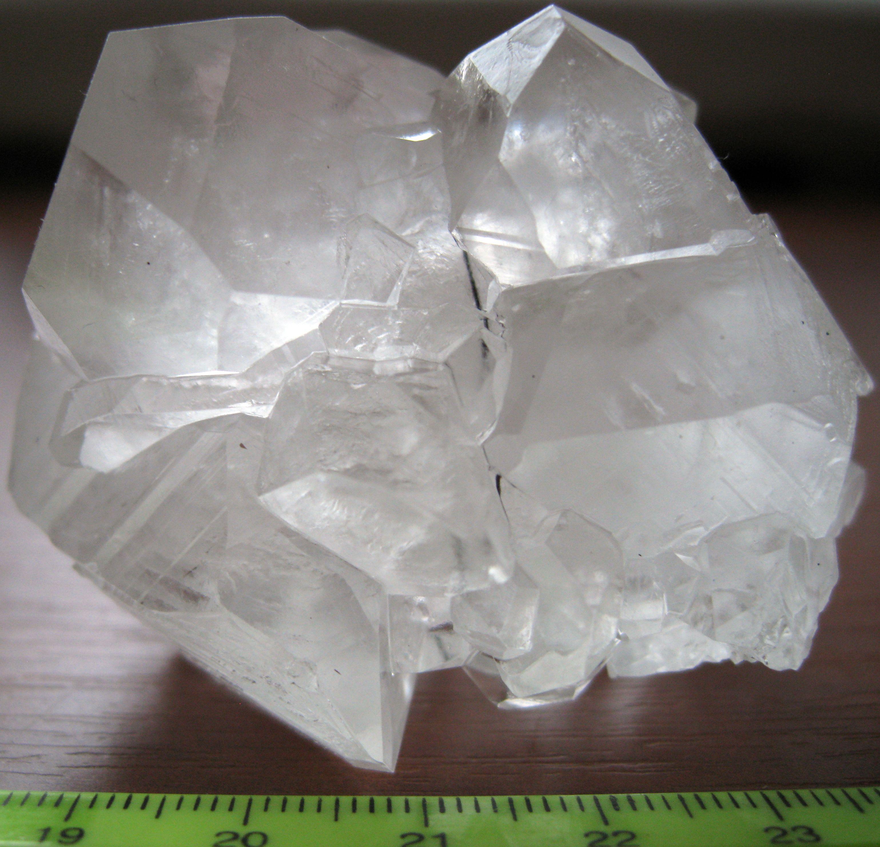Кристаллы - лимонная кислота
