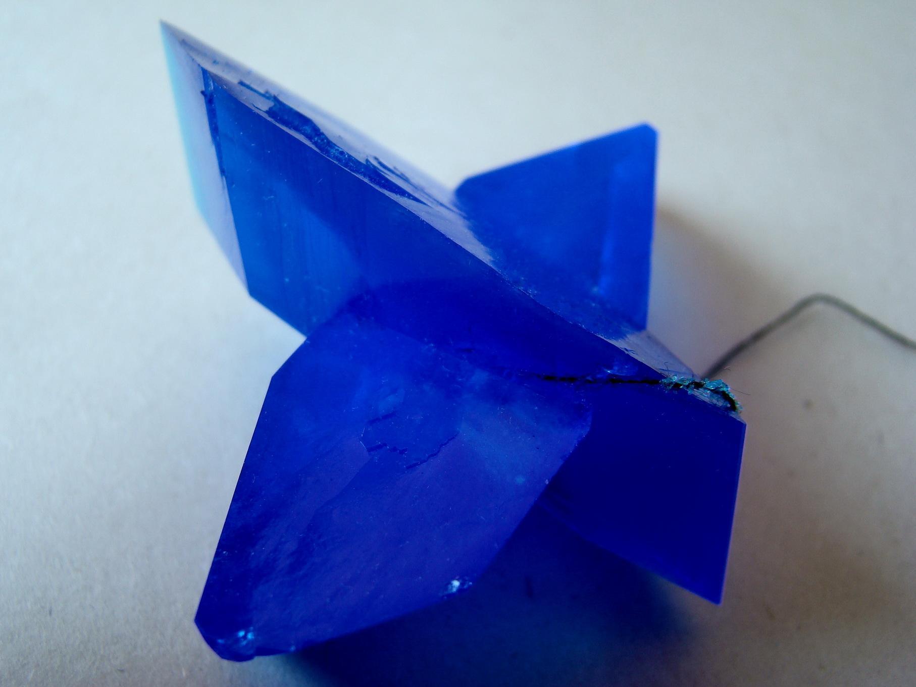 Кристаллы сульфата меди
