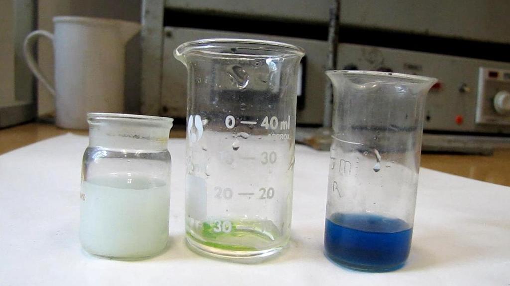 Химический анализ кристаллов