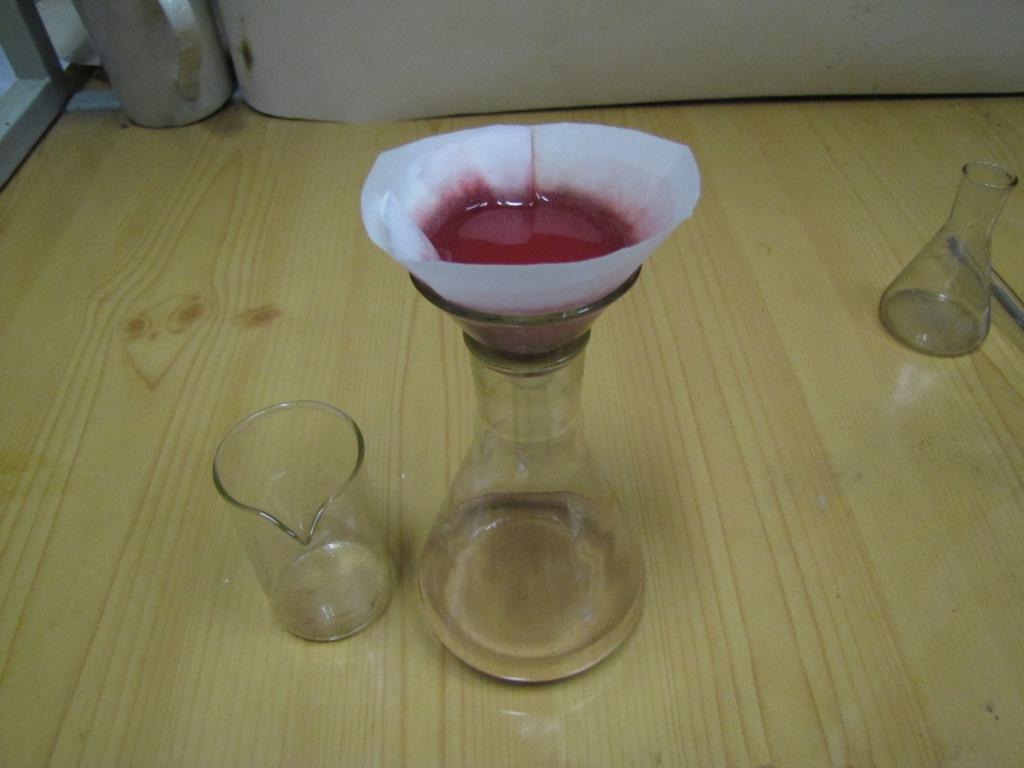 Промывка красного фосфора
