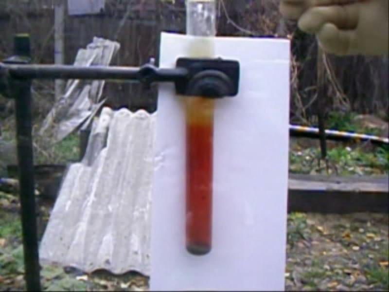 Реакция брома с калием