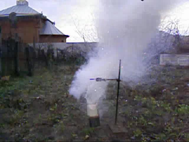 Реакция калия с водой