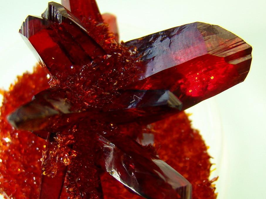 Кристаллы красной кровяной соли