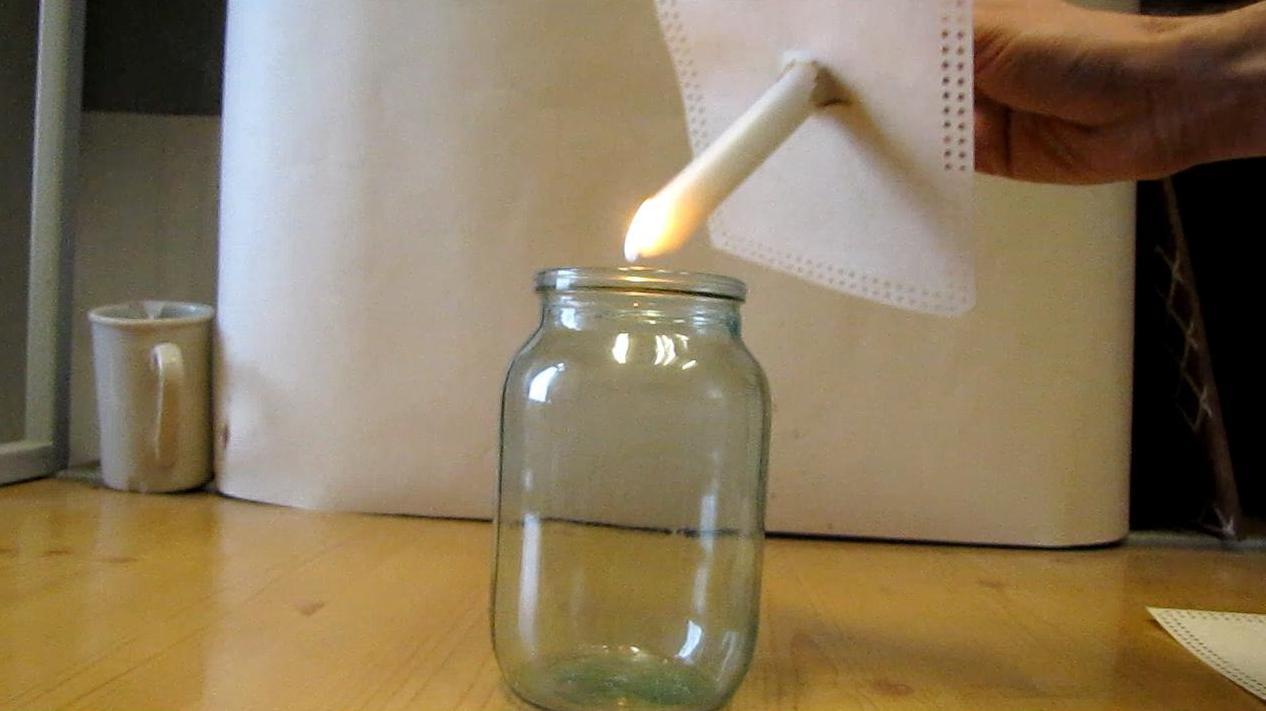 Пропан-бутановая смесь гасит свечу