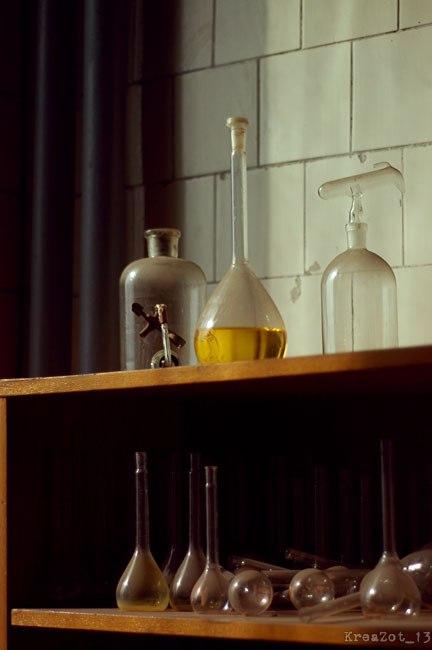 Заброшенная химическая лаборатория