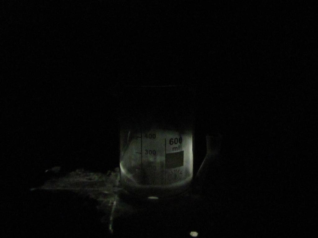 Свечение фосфора
