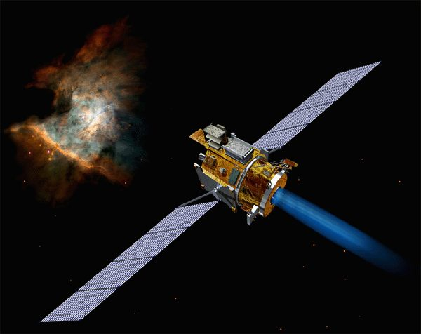 Electrically powered spacecraft propulsion  Wikipedia